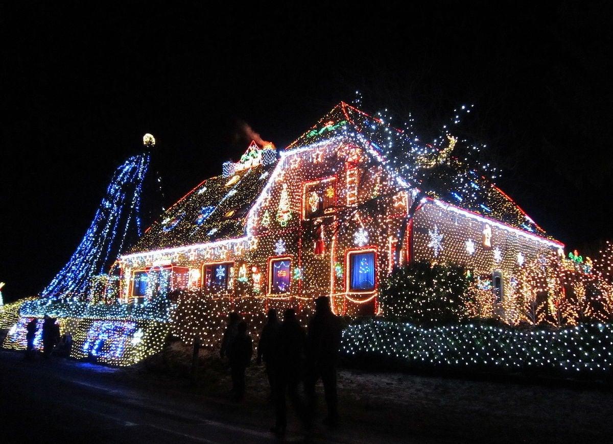 Calle weihnachtshaus