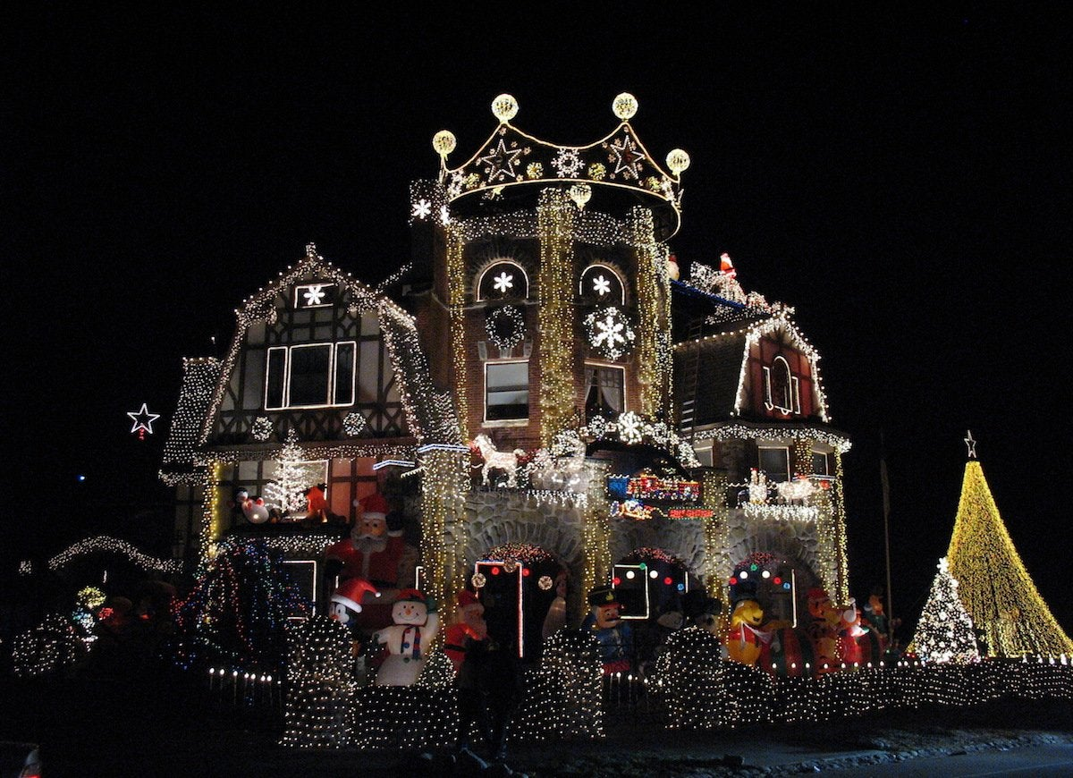 Dominic luberto christmas house