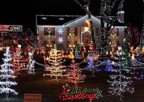 Winter Wonderland in Saugus, Massachusetts