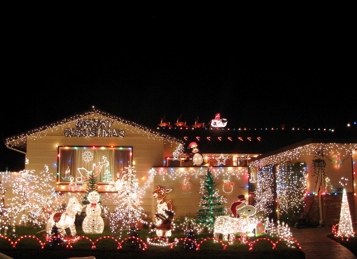Outdoor Christmas Decorations 15 Over The Top Ideas