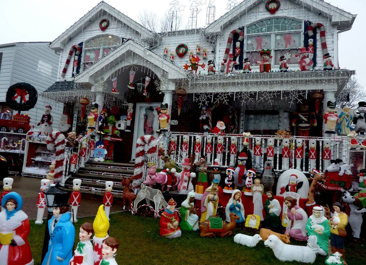 Christmas house queens new york