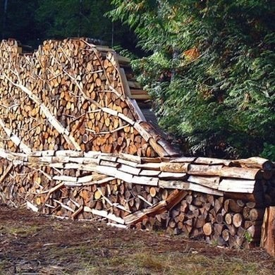 Mixed Media Artist And Naturalist Alastair Heseltine Redefined The Woodpile  In This Larger Than Life Sculpture. Beautiful And A Little Ironic, ...
