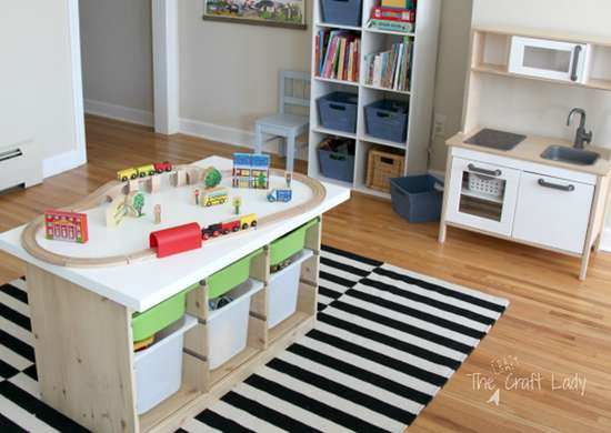 Ikea activity table