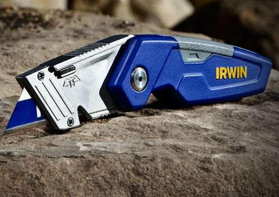 Irwin folding utility knife
