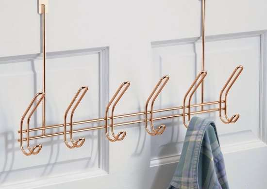 Over the door coat rack