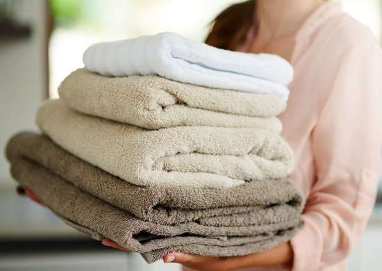 Don't Dry Towels With Fabric Softener