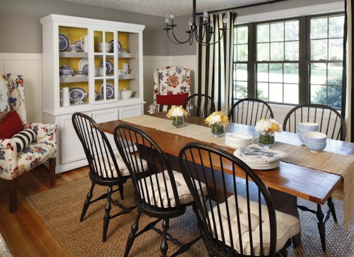 Cottage dining room makeover