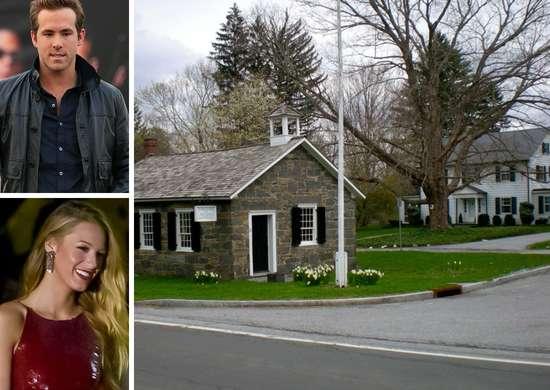 Ryan Reynolds and Blake Lively - Bedford, New York