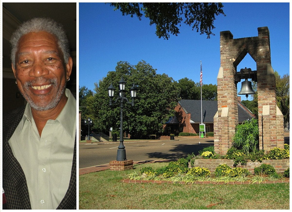Morgan freeman charleston mississippi