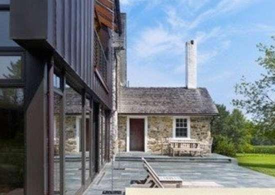 Wyantarchitecture pa farmhouse additiona terrace patio