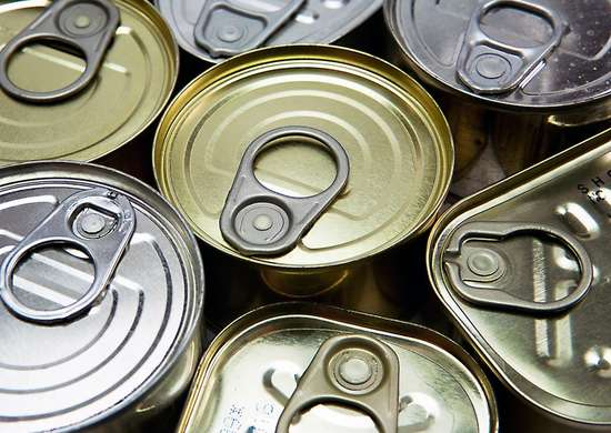 Expired Canned Goods