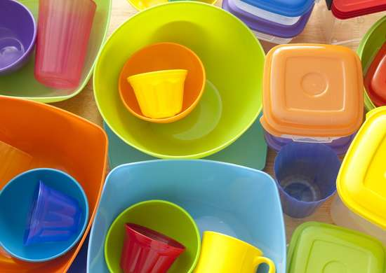 Mismatched tupperware