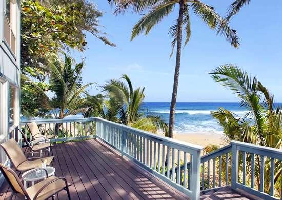 Beachfront Home in Hanalei, HI, United States