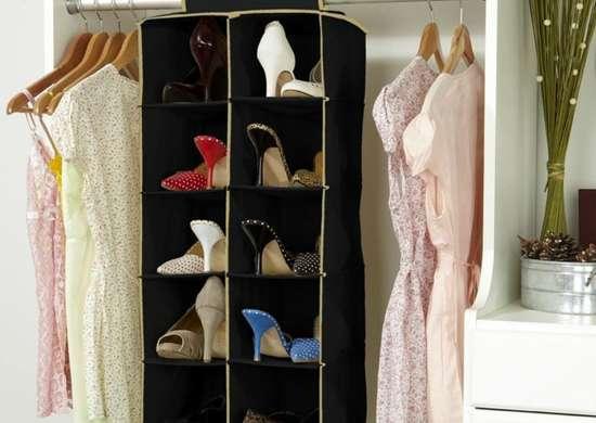 Hanging-shoe-organizer