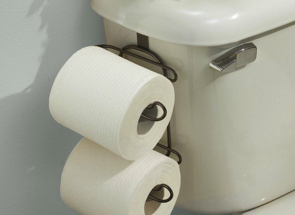 Toilet Tank Toilet Paper Holder The Best Organizers To