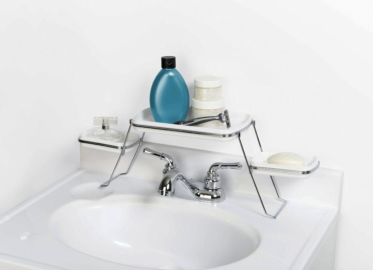 shelf over bathroom sink the sink bathroom shelf the best organizers to buy 20355