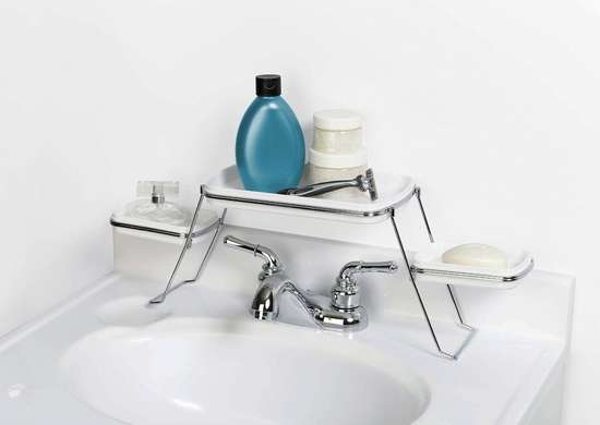 Over The Sink Bathroom Shelf