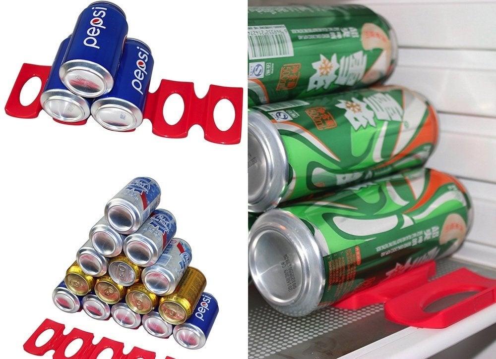 Bottle can stacker organizer