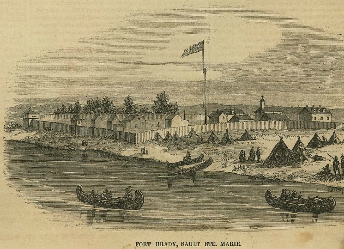 Sault ste. marie michigan 1668