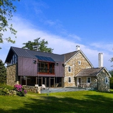 Wyantarchitecture pa farmhouse rear view 01