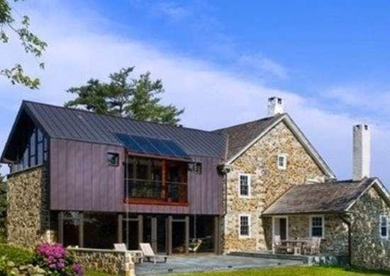 Wyantarchitecture pa farmhouse rear view 01