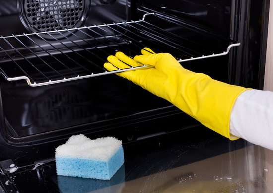 Deep clean the oven