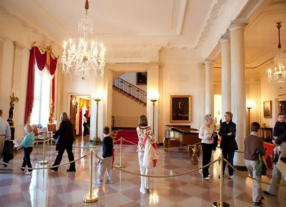 White house visitors