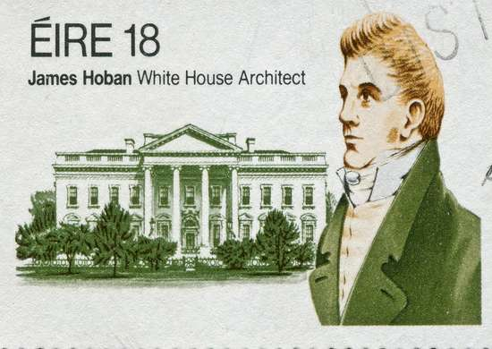 White-house-architect-james-hoban