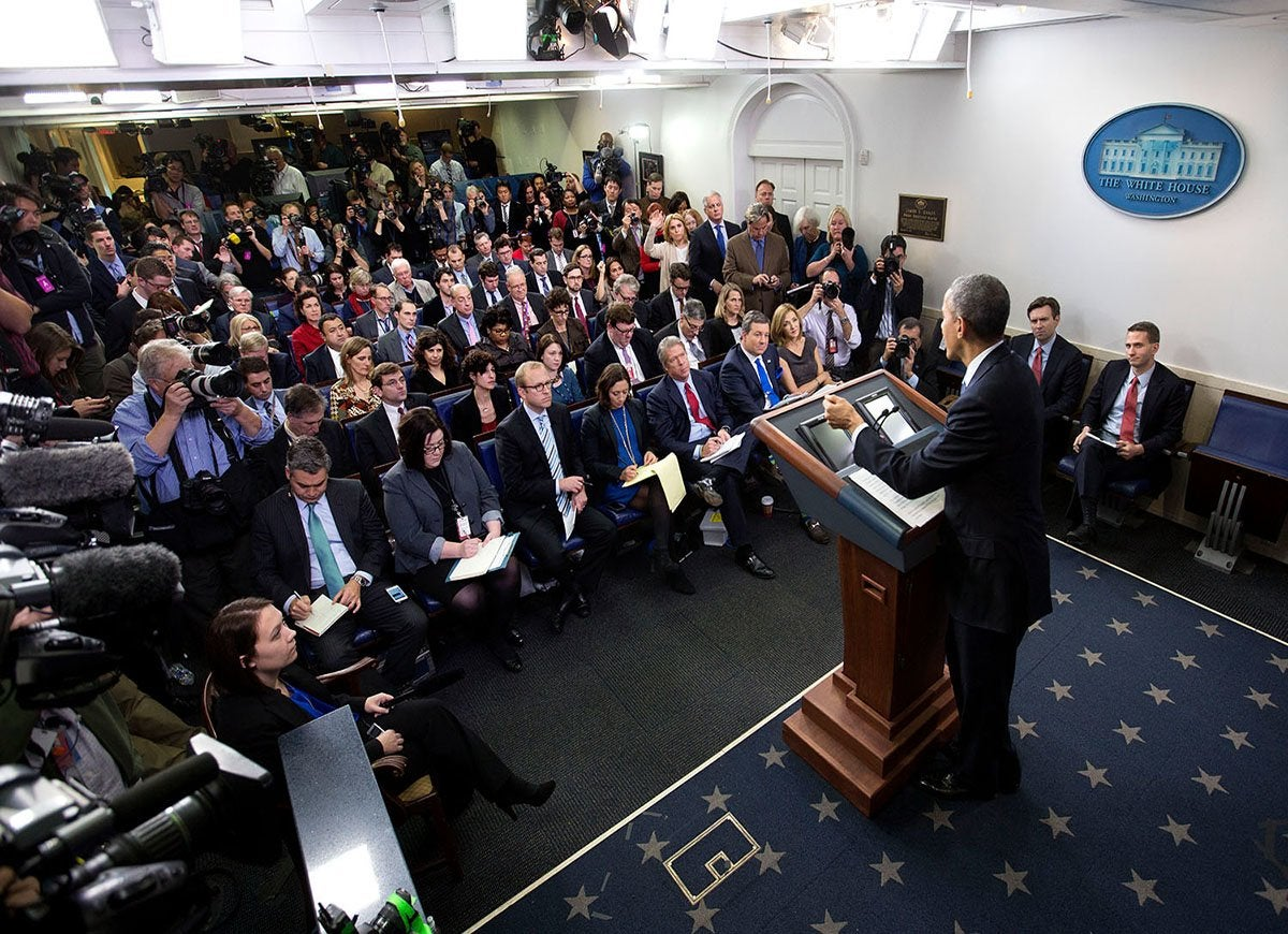 White house press pool