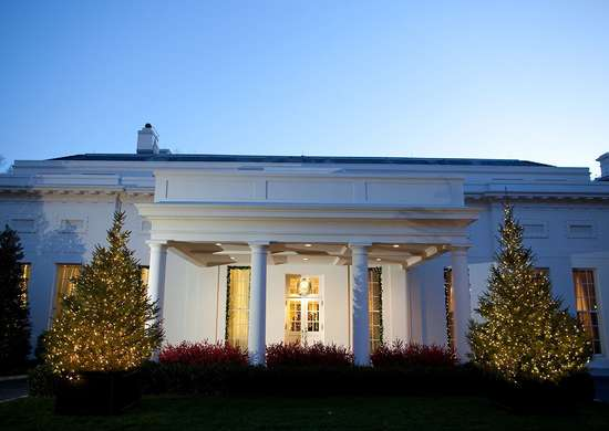 White house west wing