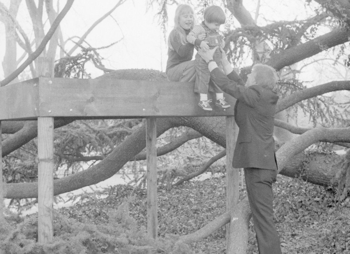 Jimmy carter amy carter tree house