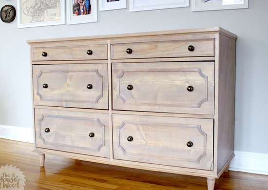 DIY 6-Drawer Dresser