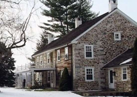 Wyantarchitecture pa farmhouse addition original house