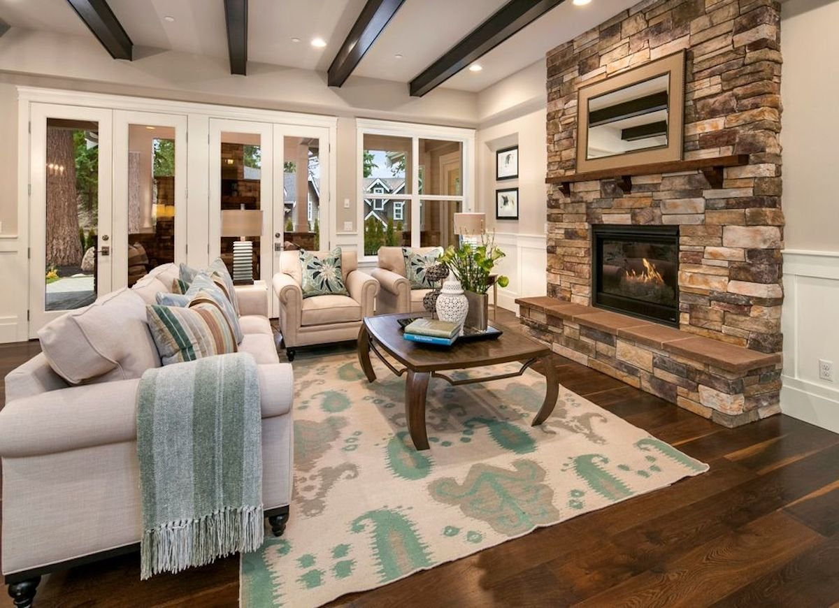 cozy neutral living room - Neutral Living Room