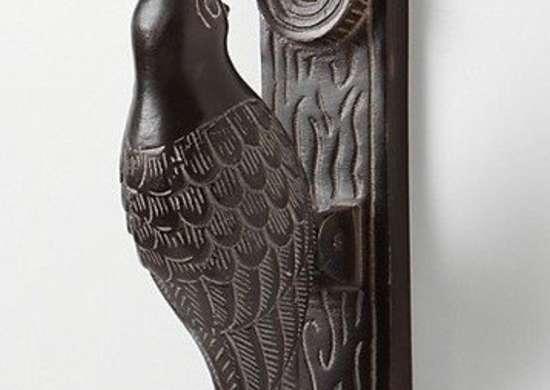 Anthropologie woodpecker doorknocker