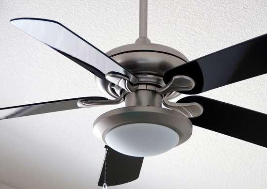 Reverse Fan for Warm Air