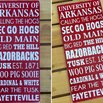 Arkansas Razorbacks Team Sign