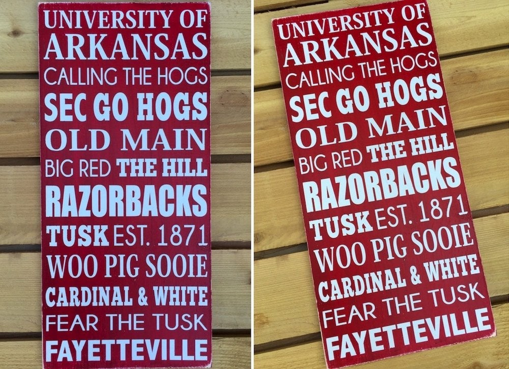 Arkansas state pride gift wall art 2