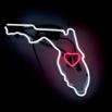 Florida Neon Sign