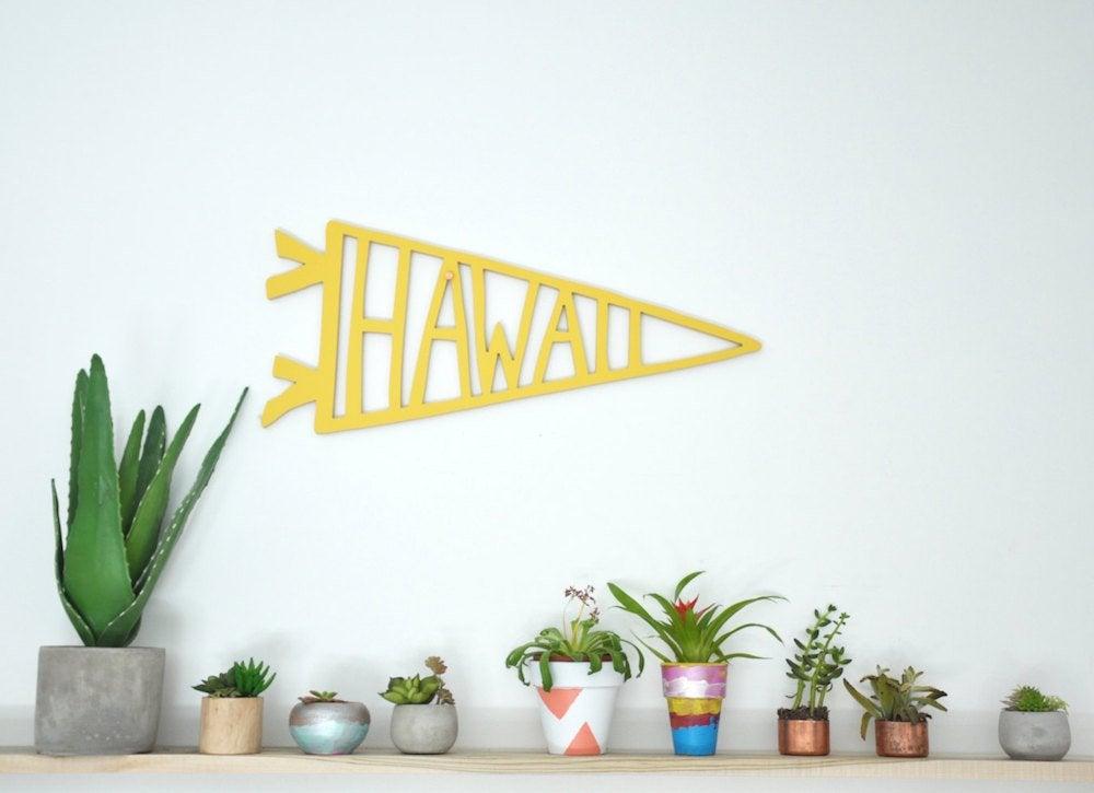 Hawaii pennant
