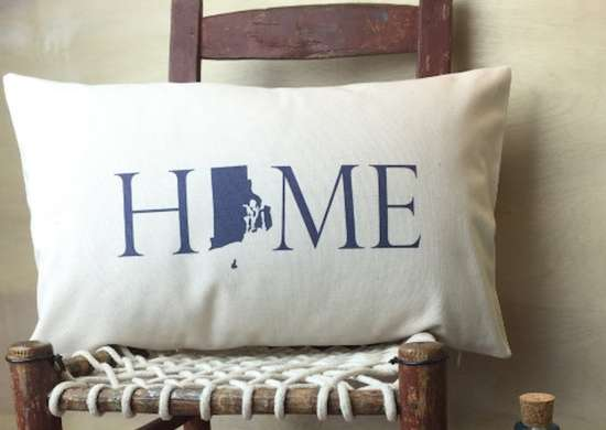 Rhode Island Pillow