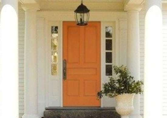 Colorchats benjaminmoore luciannasamu painted frontdoor tangerine 3tr rev