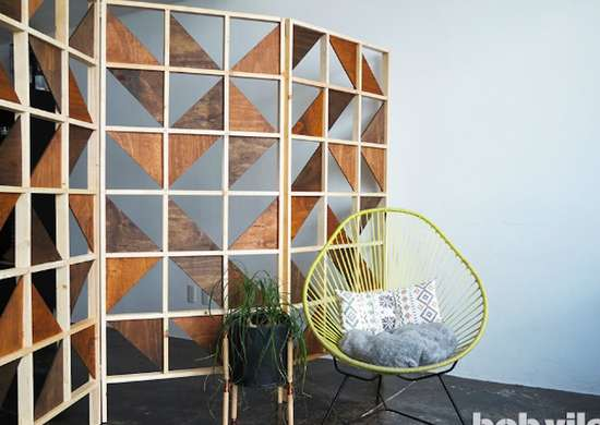Diyroomdivider splittingupspaces