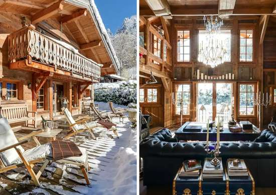 French Chalet Airbnb in Megeve, France