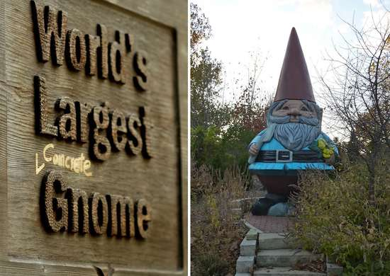 Largest Concrete Gnome - Ames, Iowa