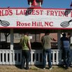 World's Largest Frying Pan - Rose Hill, North Carolina
