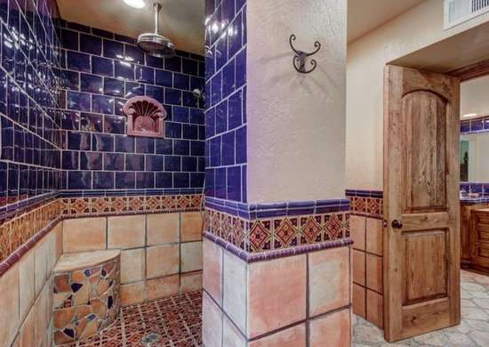 Southwestern bathroom