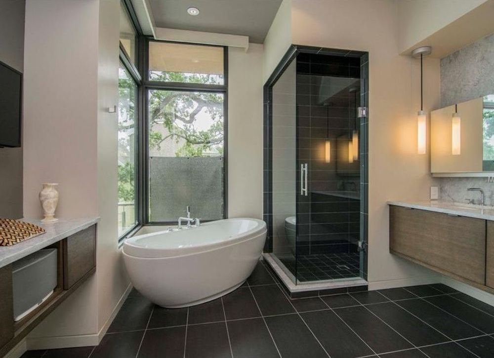 Midcentury Modern Bathroom Best Bathrooms 15 Amazing Master Baths Bob Vila