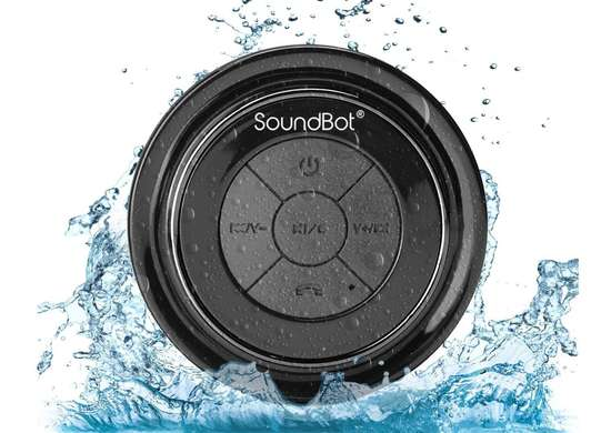 Soundbot bluetooth shower speaker
