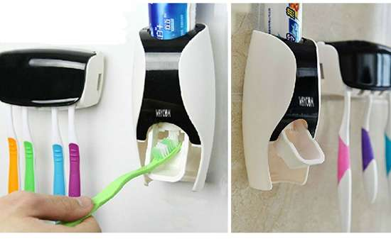 Dust-Proof Toothpaste Dispenser